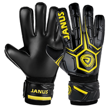 Janus JA919 Adult Child Professional Football Goalkeeper Gloves Soccer Glove Keeper Finger Protection