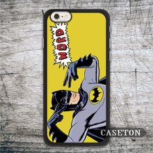 Funny Batman Pays Tricks Case For iPhone 7 6 6s Plus 5 5s SE 5c and For iPod 5 High Quality Lovely Hero Protective Cover
