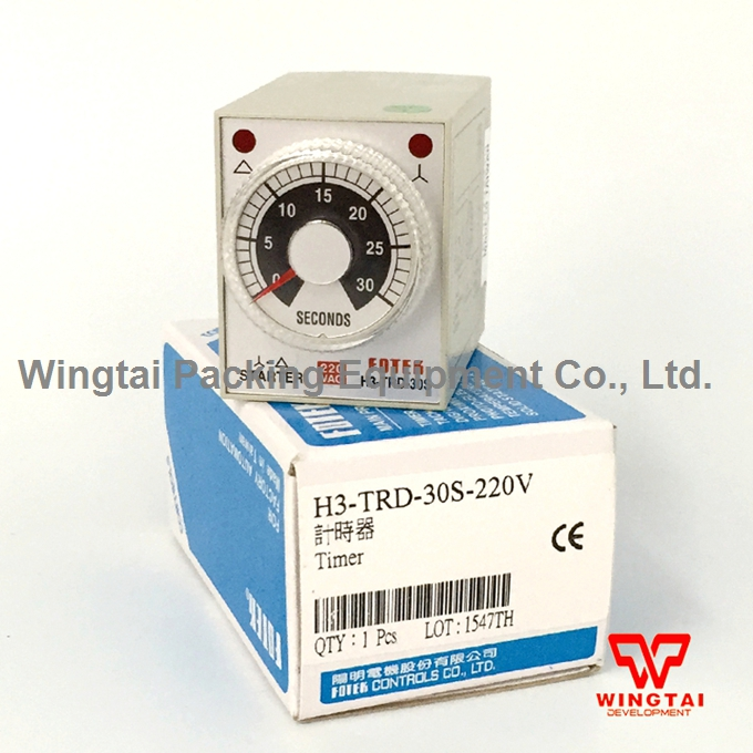 Taiwan Fotek Multi-range On Delay Timer H3-TRD-30S<br>