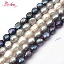 "11-12mm Natural Potato Freshwater Pearl Gem Stone Beads Strand 14.5""For DIY Necklace Bracelets Jewelry Making,Free Shipping(China)"