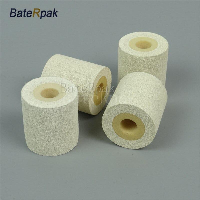 White Color Solid Ink roll,BateRpak 12pcs/carton 100% sponge ink roller,solid coding machine rolls,36*32/40mm 90-130degree<br>