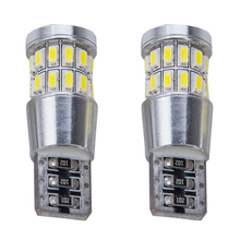 1pcs Car T10 led w5w canbus super bright 18 30smd led lamp NO Error marker Auto Wedge Clearance Lights bulb parking lamps 12V(China)