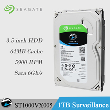 "Seagate Internal HDD 1TB Video Surveillance Hard Disk Drive 3.5"" hdd 1tb 5900 RPM SATA 6Gb/s 64MB Cache ST1000VX005 For Security(China)"