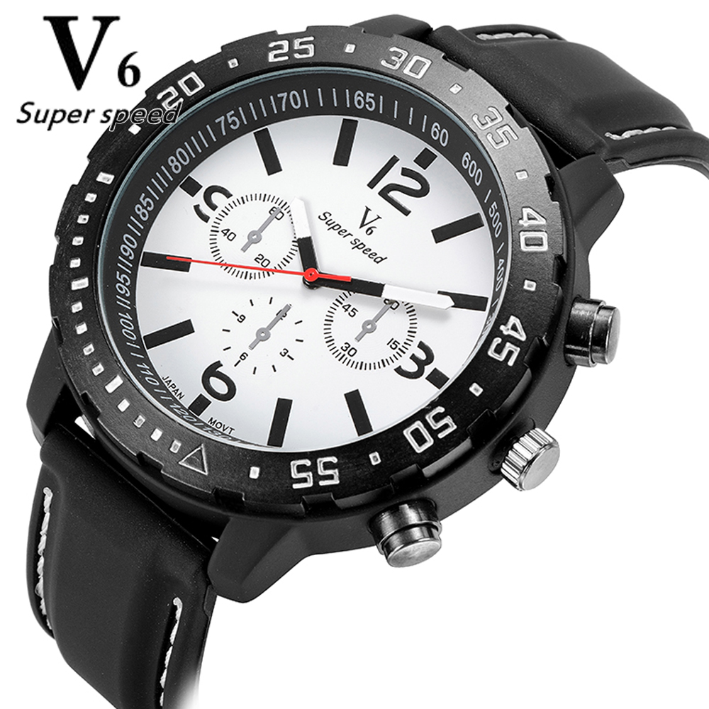 New Mens Multicolor Brand Watches Cool Shape High Quality Quartz Watch Silicone Strap Students Watch Sports Leisure Fashion<br><br>Aliexpress