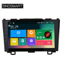 SINOSMART Support 4G 9'' Quad Core RAM 2G/1G Android 6.0 Car Navigation GPS Player for Honda CRV CR-V 2006-2011 without Canbus(China)