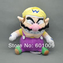 Free Shipping EMS 100/Lot 2014 New 8 inch Super Mario Bros. Wario Plush Doll Stuffed Toy(China)