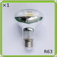 Manufacturer 120V 220V 230V 240V 6W or 8W led spot light R63 led bombilla LED luminaria E27 glass type filament led PAR BR light