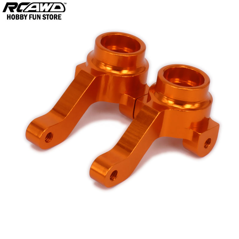 RCAWD Steering Hub Carrier Steering Blocks Upright Set Left Right For Rc Car 1/10 HPI RS4 113708 RS4001 6061-T6<br><br>Aliexpress
