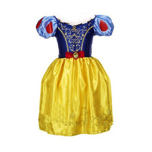 Summer Children Clothes Baby girls dresses Snow White Dress Party Princess Girls Dresses Cosplay Costume dress High quality