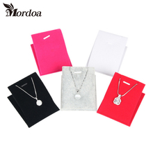 Mordoa Wholeslae Lot of 10 Jewelry Necklace Chain Pendant Display Stand Holder Handmade Show Decor Organizer Case Shop Counter(China)
