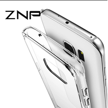 ZNP Transparent Case For Samsung Galaxy S6 Ultra Thin Clear Soft TPU Silicone Cover Cases For Galaxy S6 edge Case Coque Fundas(China)
