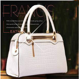 2017 Womens  Patent Leather Handbag Crocodile Pattern Fashion Handbag Cross-Body Shoulder Bag Q0 F283<br><br>Aliexpress