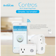 Broadlink Sp3 SP CC 16A+Timer EU US mini wifi socket plug outlet Smart Home remote wireless Controls for iphone ipad Android(China)