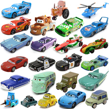 2017 hot style 27 styles Pixar Cars 2 Diecast Metal Alloy Modle 1:55 Scale Cute Toys For Children Gifts Anime Cartoon Kids Dolls