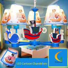 pendant lighting bedroom pendant lamp Corsair boy Mediterranean fashion Pendant Lights table lamp wall lamp(China)
