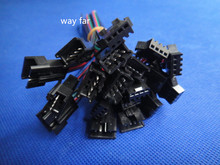 5pairs 2 pin 3 pin 4 pin 5 pin jst Connector 2 x 10cm Male female SM Wire cable pigtail for led strip light Lamp Driver CCTV