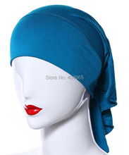 H1014a plain cotton jersey tube hats, longer on back,can choose colors,fast delivery