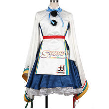 DJ DESIGN Touhou Project Ten Desires Mononobe no Futo Uniform COS Clothing Cosplay Costume(China)