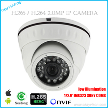 720P 1080P HD IP Camera Indoor Dome Camera 2MP H.264 H.265 IMX323 SONY COMS Network Camera Onvif P2P Android iPhone Seetong View