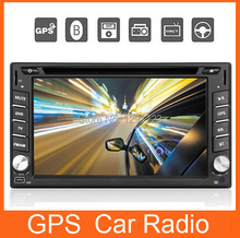 Double 2 Din 7 inch Head unit In Dash Car Stereo Video Player GPS Navigation with free GPS map+Analog TV+FM/AM Car Autoradio PC