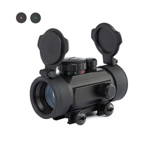 Red&Green Dot Scope 1X30 Tactical Hunting Holographic Sight for Shot Gun Airsoft 20mm Rail Mount Riflescopes Hunting Optics