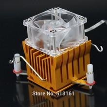 Heat sink PC CPU Cooler Cooling 12V Fan DIY Southbridge Northbridge Aluminum Heatsink(China)