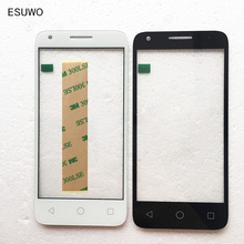 ESUWO Touch Screen Outer Front Glass For Alcatel One Touch 5019 5019A 5019X 5019D Pixi 3 Front Outer Glass Lens(China)