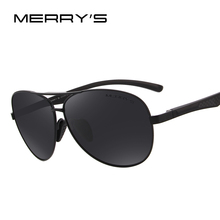 MERRY'S Men Pilot Sunglasses HD Polarized Glasses Brand Polarized Sunglasses S'8228