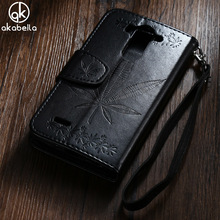 Buy AKABEILA Wallet Phone Cases Covers LG Optimus G3S G3 Mini G3 Beat S D724 D722 D728 D725 Maple Leaf PU Leather Back Cover for $3.99 in AliExpress store