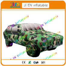 Advertising inflatable car model / free shipping inflatable Military off-road vehicles / army car inflatable model for display