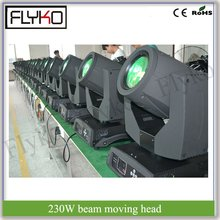 beam moving head 7R 230W dj equipment disco bar stage professional light tv show lighting(China)