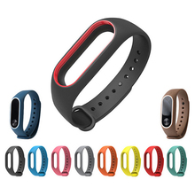 Original Silicon Wrist Strap Replacement Sport TPU Fitness Band Wristband Strap For Xiaomi Mi Band 2 Bracelet