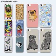 Colorful Poodle Dog Art Pug Hugs hard clear phone Case Cover for Xiaomi mi 5 5s Plus 4 4c 4s redmi 3 3s 4 4A note 3 4