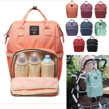 Fashion Baby Stroller Bag Mummy Large Capacity Travel Backpack Nursing Hangings Bag Strollers Accessories(China)