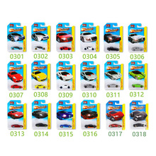 16Pcs 1:64 Hot Wheels Diecast Metal Car Models The Fast And Furious Pocket Cars Toys Sports Car Gifts Box Gifts For Boys Collect(China)