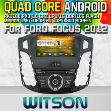 WITSON S160 CAR DVD for FORD FOCUS 2012 STEREO NAVIGATION Quad Core Android 4.4+CAPACITIVE 1024X600 HD+16G Flash+PIP+WIFI/DVR