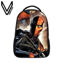 VEEVANV Brand 2017 Iron Man Image 3D Prints School Backpacks Teenagers Student Shoulder Bags Iron Man Pattern Children Backpacks