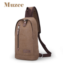 Muzee New Fashion Shoulder Bag Men Canvas Bags Casual Travel Military Messenger Bag ME_2110