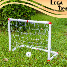 New Arrival Portable Folding Children Kid Goal Football Door Set Football Gate Outdoor Indoor Toy Sports Toy with Pump&Net&Ball