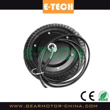 ETECH good price 8inch hub motors with ebs brake and solid tire, 8inch ebike motors 350W