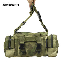 6L Military Tactical Waterproof Oxford Molle Outdoor Camping Hiking Pouch Backpack Waist Bags Mochila Militar(China)