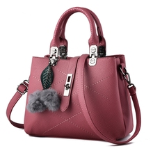 2017 NEW Fashion Woman Bag Fashion Designers Casual bag Famous Brand Metal Tote Leather Bag Lady Handbags Shoulder Bag rubber p