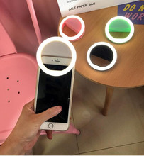 Selfie Ring Mirror Makeup Case For BQ BQS-5060 Slim 4009 Orleans 4504 Nice LED Light Flash UP Android Mobile Phone Cover(China)