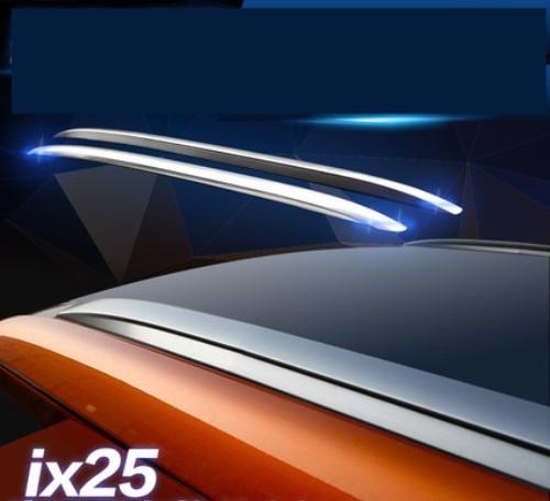 ABS Chromium Roof Rack Luggage rack Roof Racks For Hyundai ix25 2014.2015.2016.Paste installation <br><br>Aliexpress
