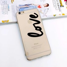 Nephy Mobile Phone Case For iPhone 5 6 S SE 5S 6S Plus 6Plus 6sPlus Cover Portuguese words letters Clear Skin Ultrathin Silicone