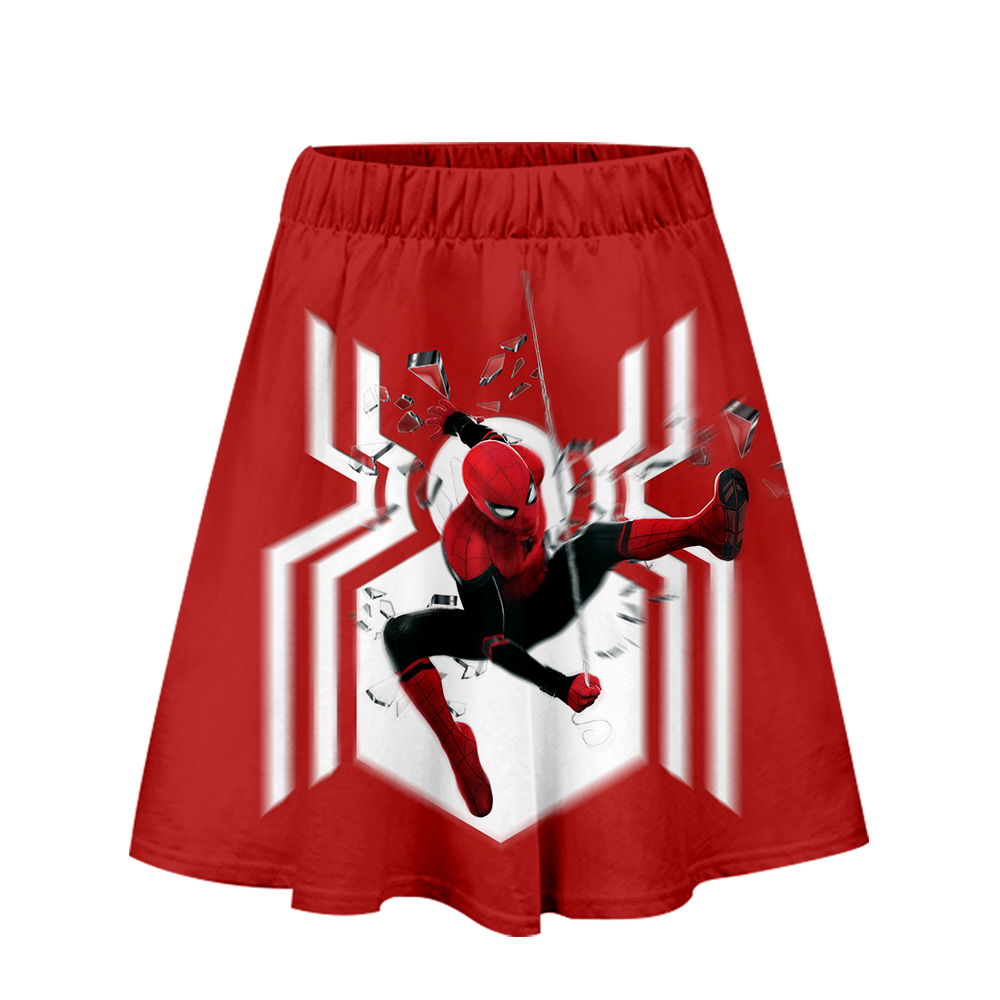 Spider man far from home Skirt Harajuku Casual 2019 New Style Pop Skirts New Sexy Kpops Women Casual Hot Sale Fashion Skirts