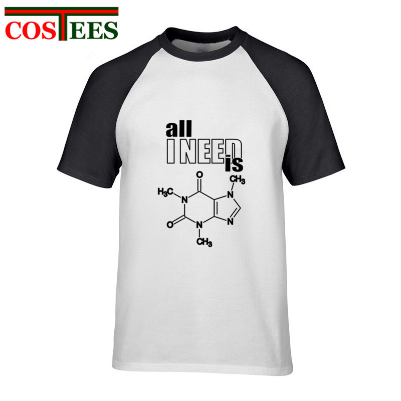 Biology T Shirt Design | Detail Feedback Questions About All I Need Is Caffeine Nerd Design