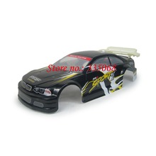 HENG LONG 3850-1 RC nitro car Sprint 1/10 spare parts no.10005 Black Car body shell / car shell / car body