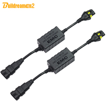 Buy Buildreamen2 CANBUS Decoder Car HID Xenon Light KIT H1 H3 H4 H7 H8/9/11 9005 9006 9007 Warning Canceller Error Capacitor for $13.19 in AliExpress store