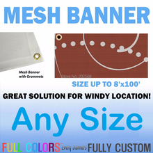 Customized Printed PVC Fence Mesh Banner